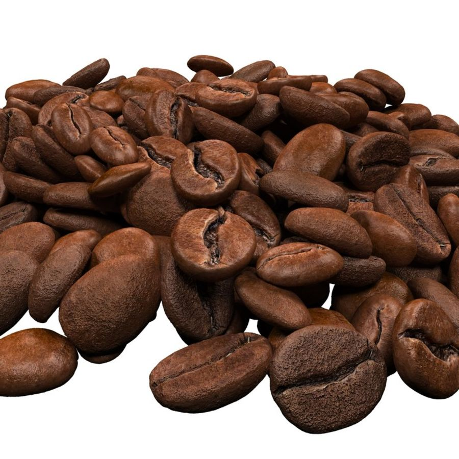 Coffee Beans royalty-free 3d model - Preview no. 6
