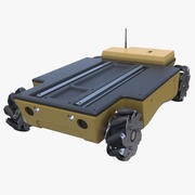 Mobile Omni Robot Platform 3d model