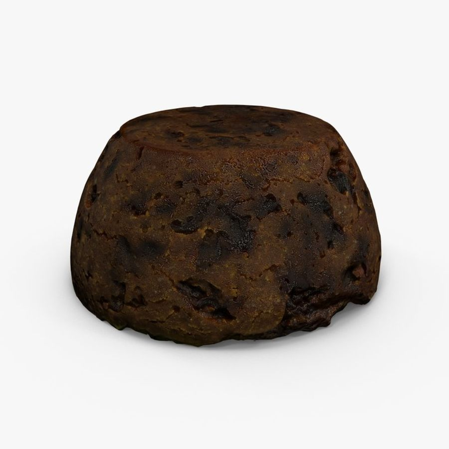 Christmas Pudding royalty-free 3d model - Preview no. 1