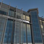Modern Building 081 3d model