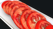 Tomato Slices 3d model