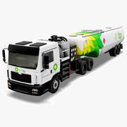 Fuel Truck BP 3d model
