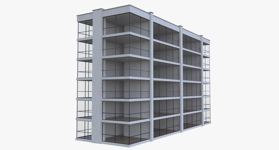 公寓楼五,内部装满 royalty-free 3d model - Preview no. 5