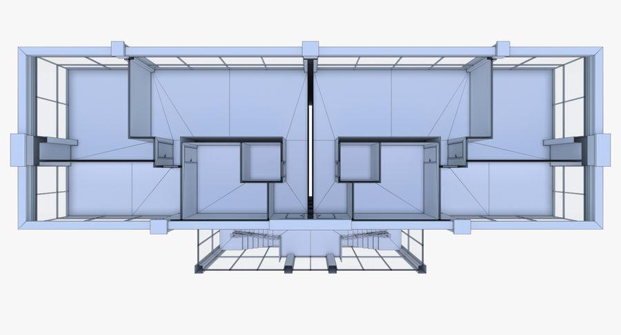 公寓楼五,内部装满 royalty-free 3d model - Preview no. 24