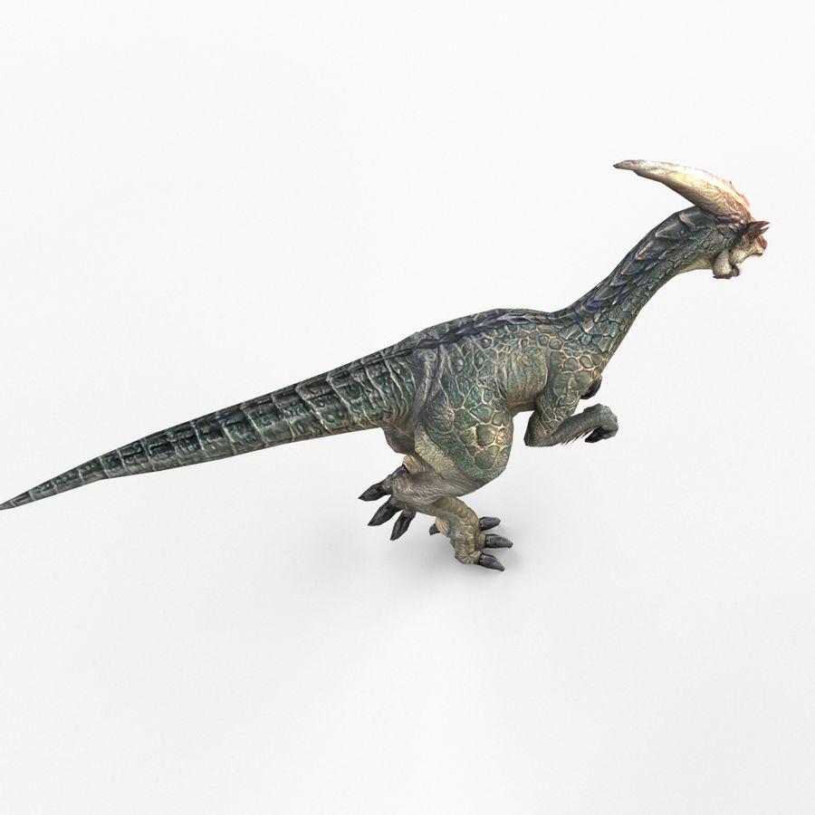 Velociraptor royalty-free 3d model - Preview no. 5