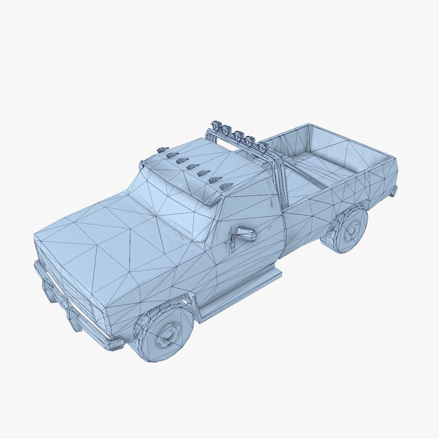 Rusty Car Collection royalty-free 3d model - Preview no. 34