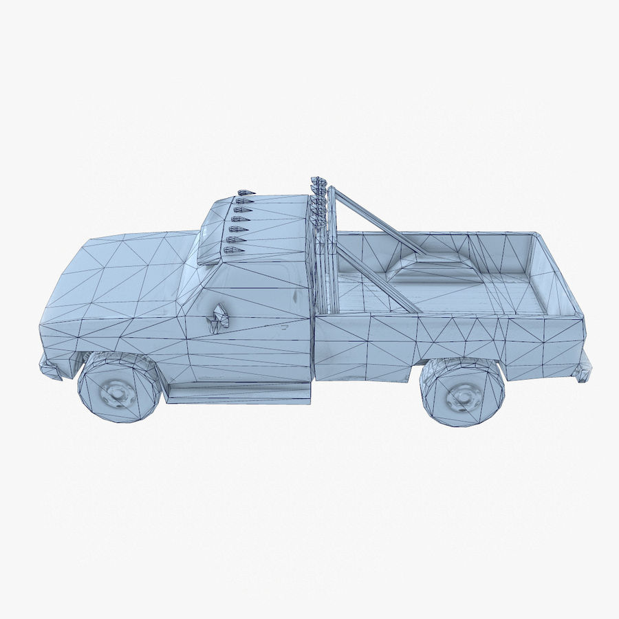 Rusty Car Collection royalty-free 3d model - Preview no. 36