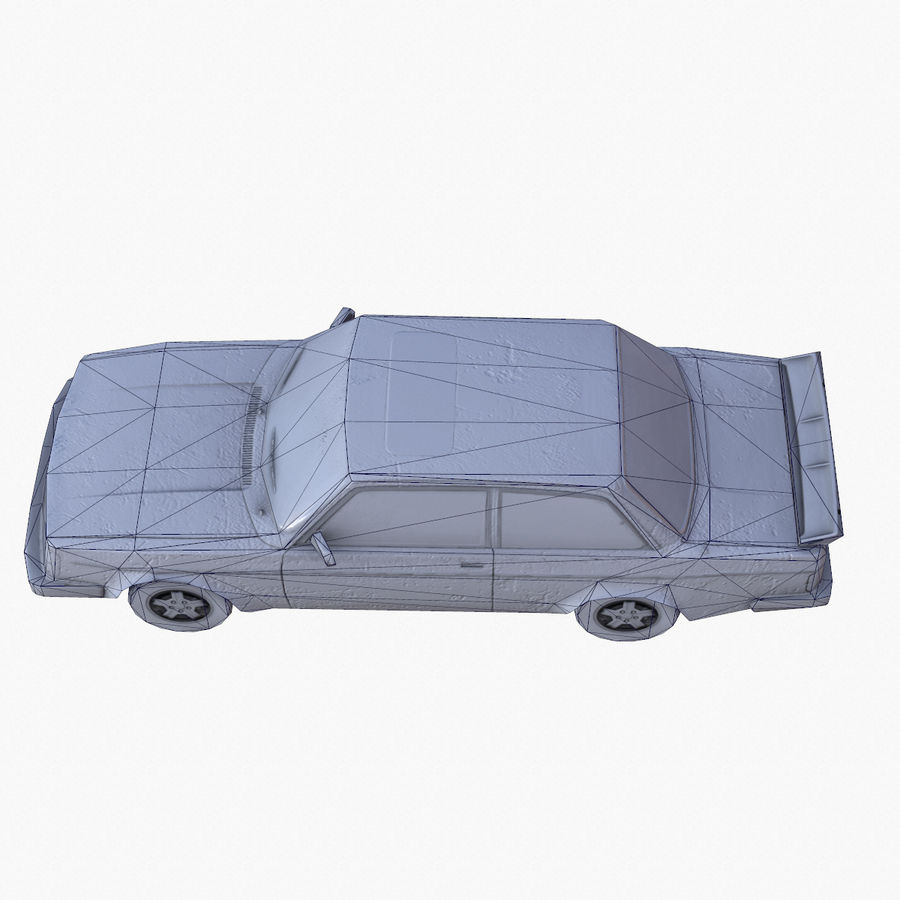 Rusty Car Collection royalty-free 3d model - Preview no. 26