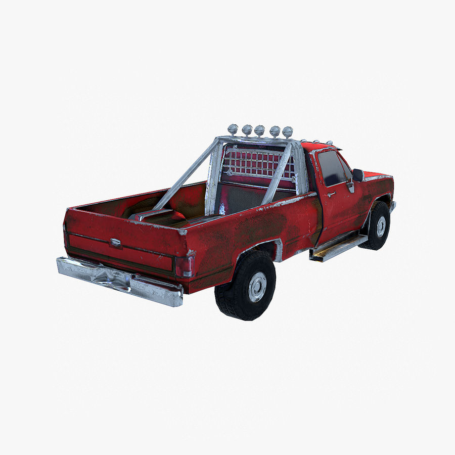 Rusty Car Collection royalty-free 3d model - Preview no. 29