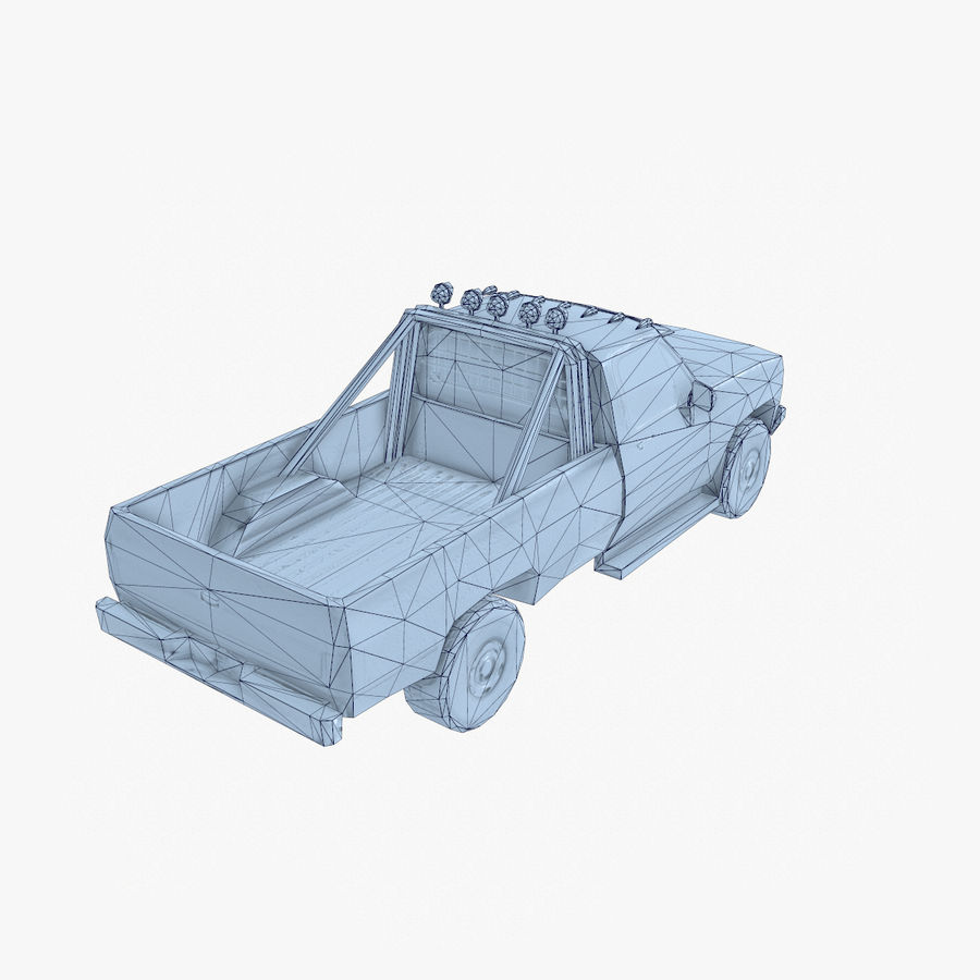 Rusty Car Collection royalty-free 3d model - Preview no. 39