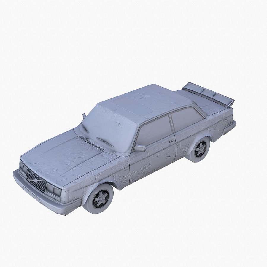 Rusty Car Collection royalty-free 3d model - Preview no. 21