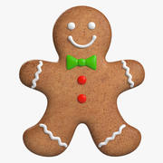 Gingerbread Cookie 2 3d model