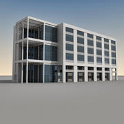 Modern Building 093 3d model