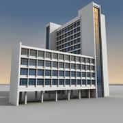 Modern Building 090 3d model