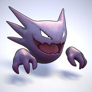 Haunter Pokemon 3d model