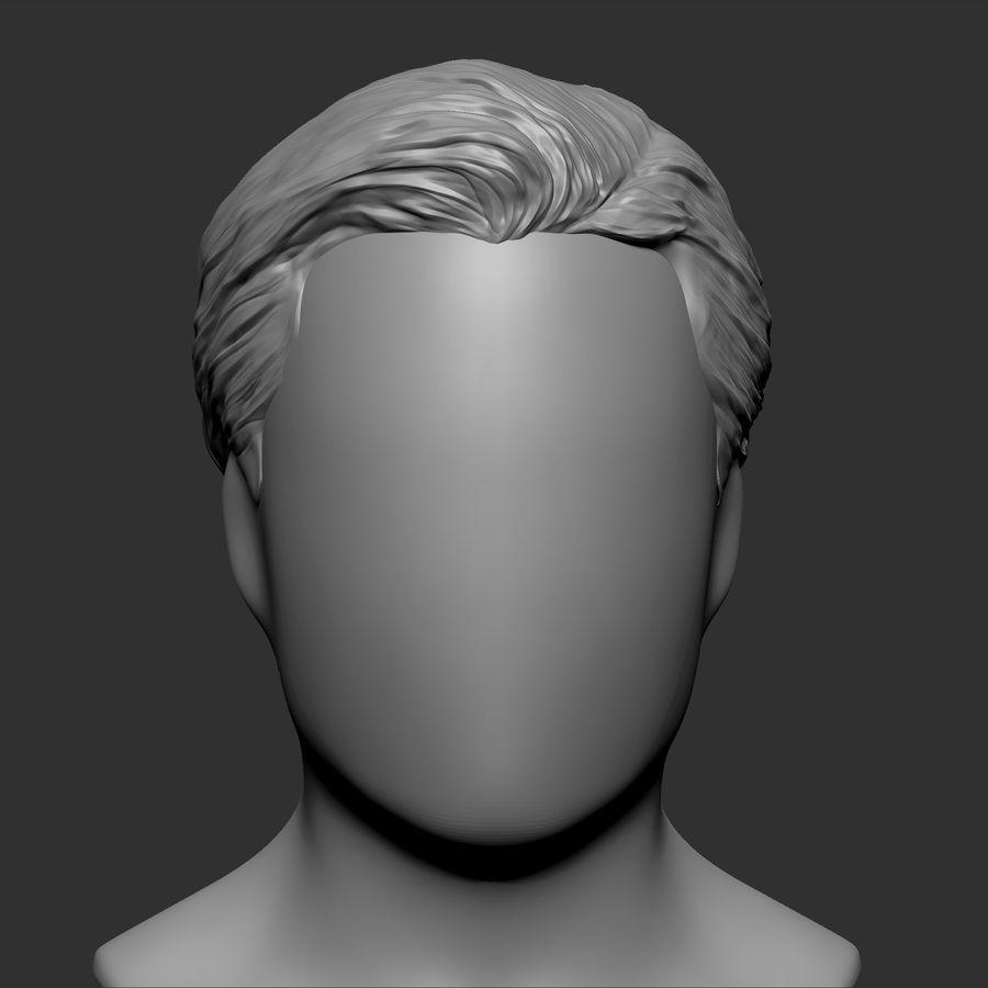 Beauty Man Hairstyle 5 5D Model $59 - .ztl .obj - Free5D