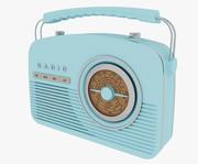 Retro Radio 3d model