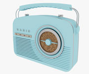 Radio retrò 3d model