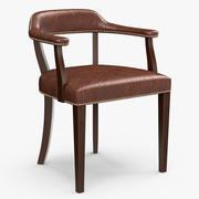 Rupert Bevan - Croft leather chair 3d model