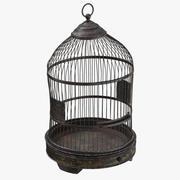 Oude vogelkooi 3d model