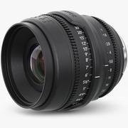 Camera Lens Red Epic 3d model