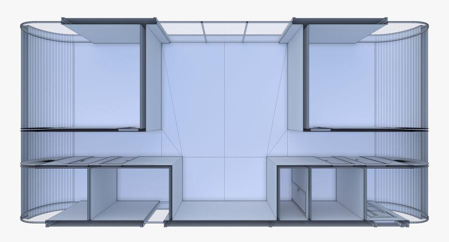 Maison moderne deux avec intérieur modèle 3D $29 - .obj .fbx ...