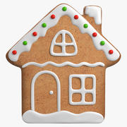 Gingerbread Cookie v5 3d model