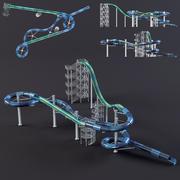parco acquatico diapositive4 3d model