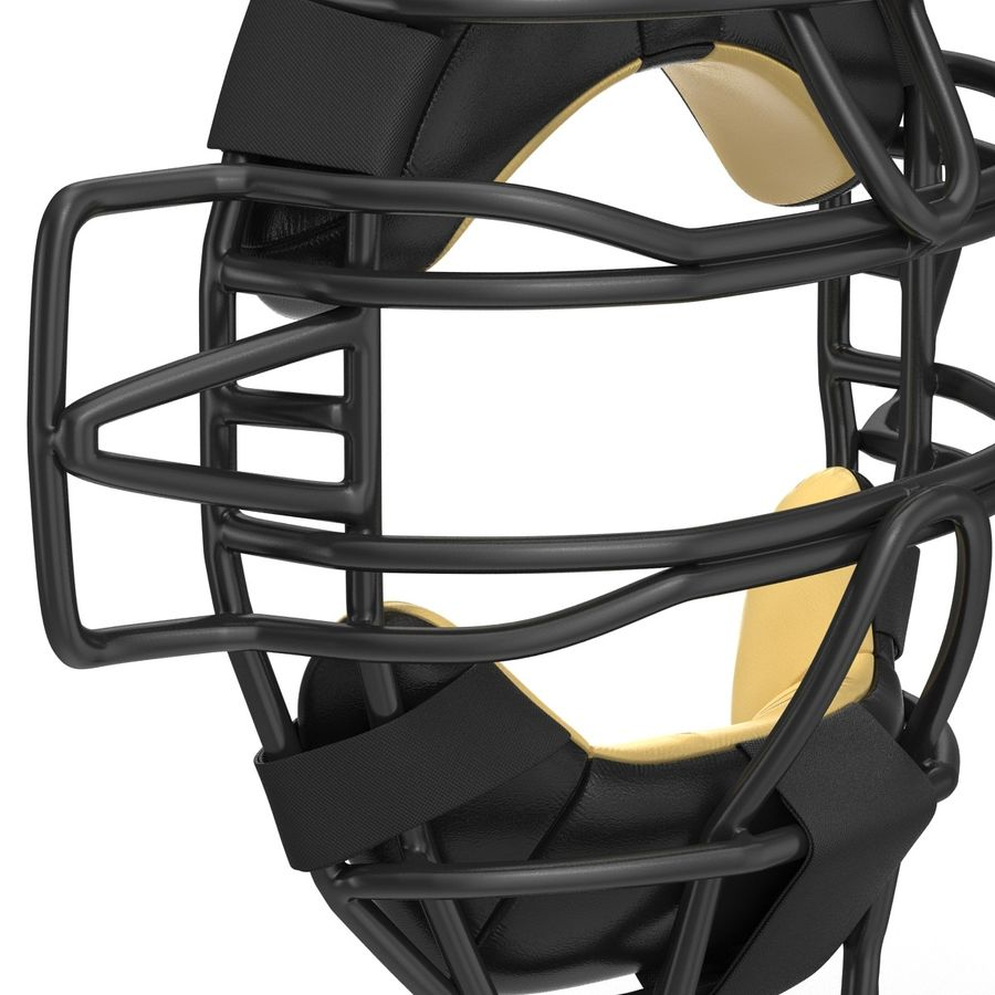 Catchers Face Mask Generic royalty-free 3d model - Preview no. 12