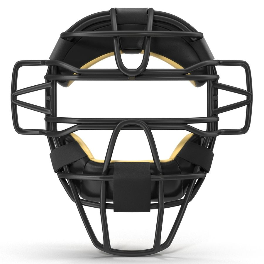 Catchers Face Mask Generic royalty-free 3d model - Preview no. 3