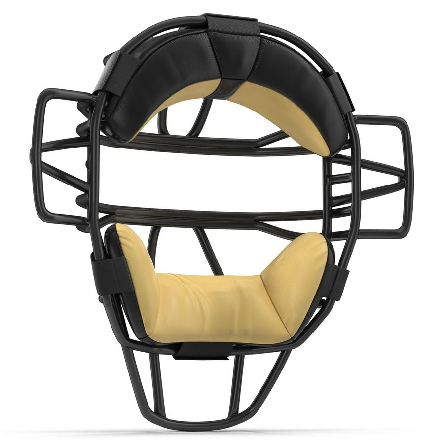 Catchers Face Mask Generic royalty-free 3d model - Preview no. 8