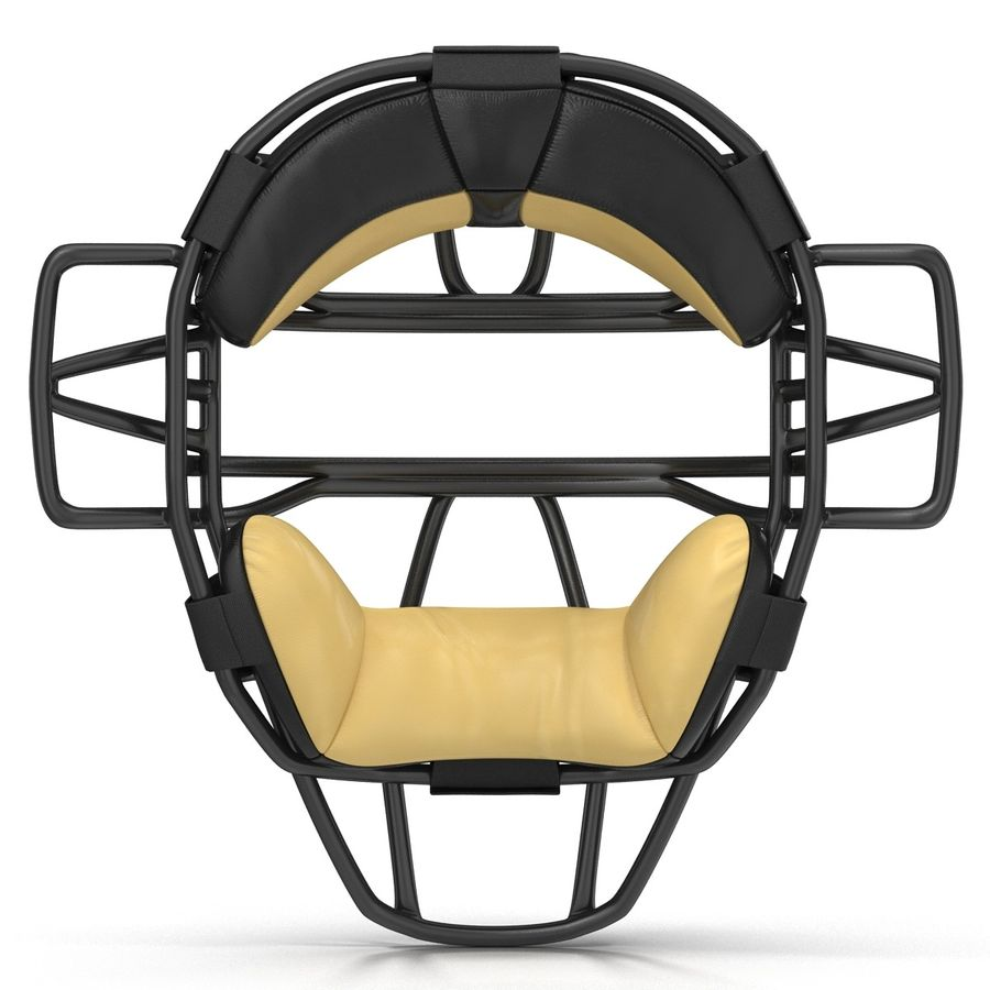 Catchers Face Mask Generic royalty-free 3d model - Preview no. 4