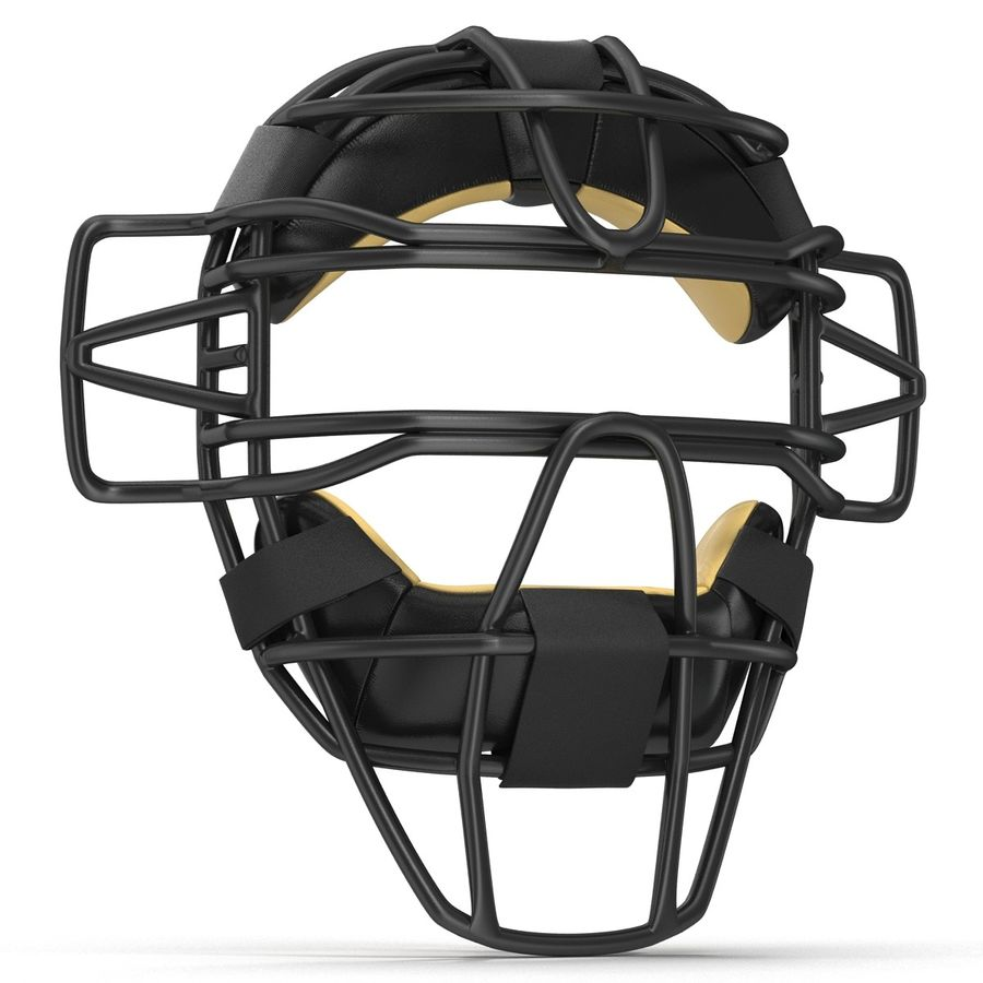 Catchers Face Mask Generic royalty-free 3d model - Preview no. 6