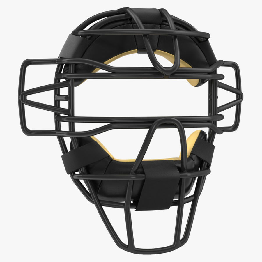 Catchers Face Mask Generic royalty-free 3d model - Preview no. 1