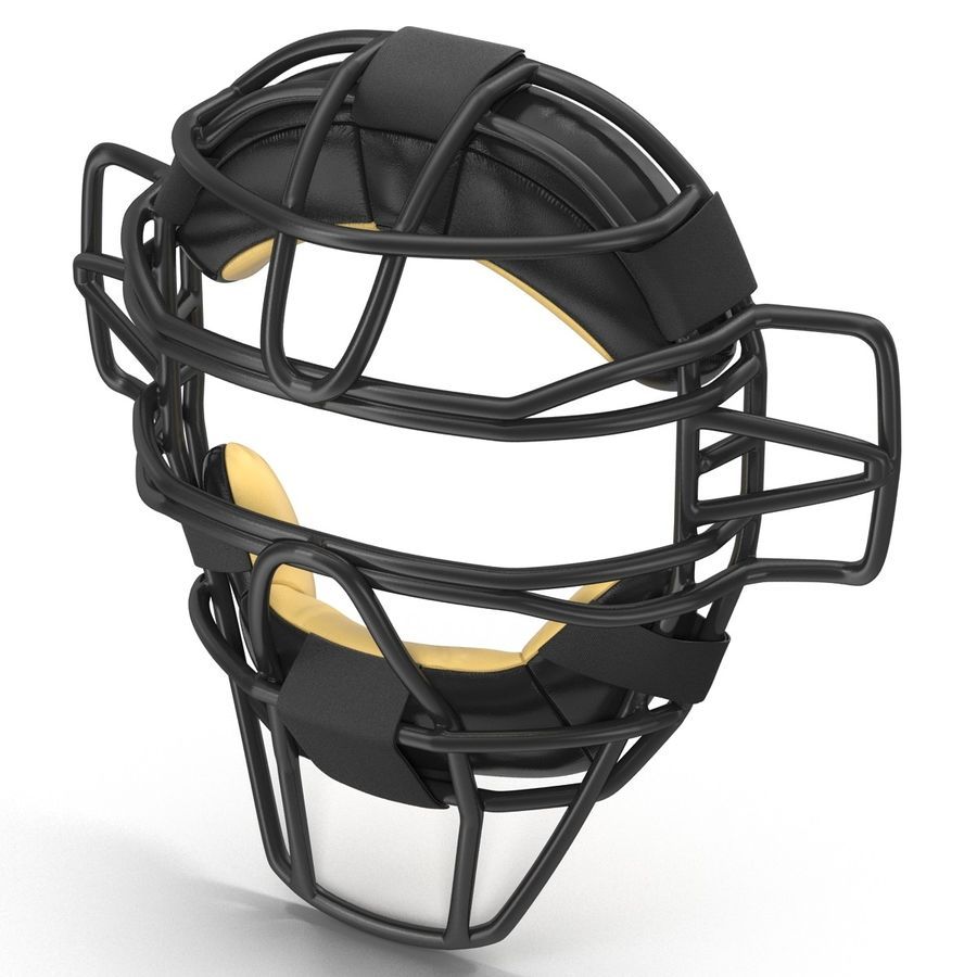 Catchers Face Mask Generic royalty-free 3d model - Preview no. 5