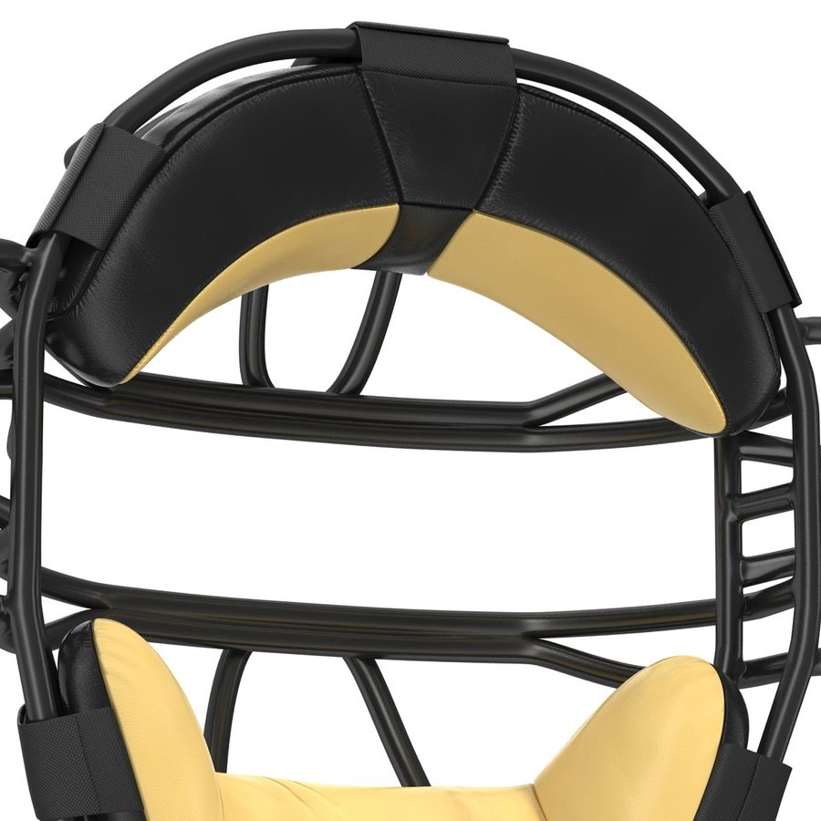 Catchers Face Mask Generic royalty-free 3d model - Preview no. 13