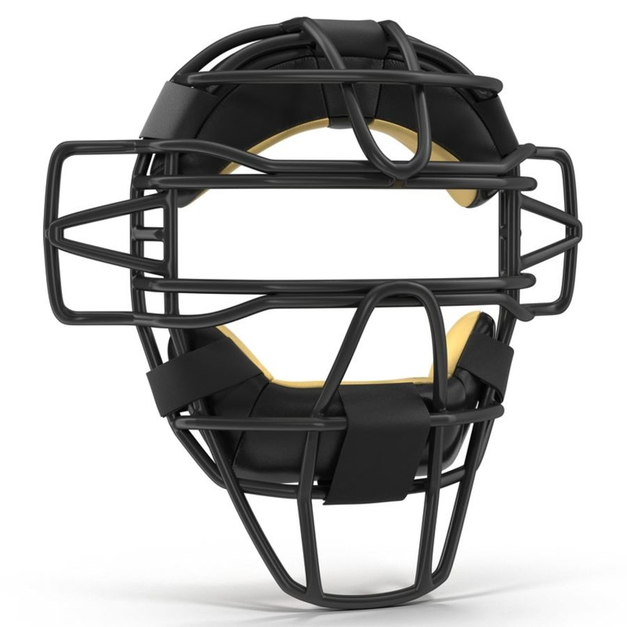 Catchers Face Mask Generic royalty-free 3d model - Preview no. 2