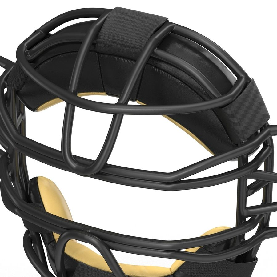 Catchers Face Mask Generic royalty-free 3d model - Preview no. 14
