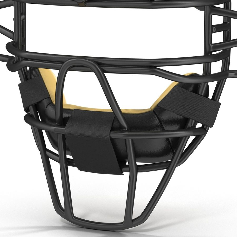 Catchers Face Mask Generic royalty-free 3d model - Preview no. 10
