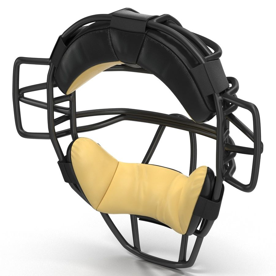 Catchers Face Mask Generic royalty-free 3d model - Preview no. 7