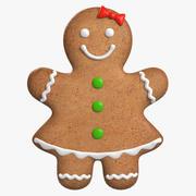 Gingerbread Cookie 1 3d model