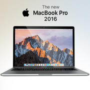 Apple MacBook Pro 2016 13'15' 3d model