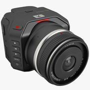 Blackmagic Micro Studio相机4K 3d model