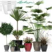 plant 24 Lechuza CLASSICO 3d model