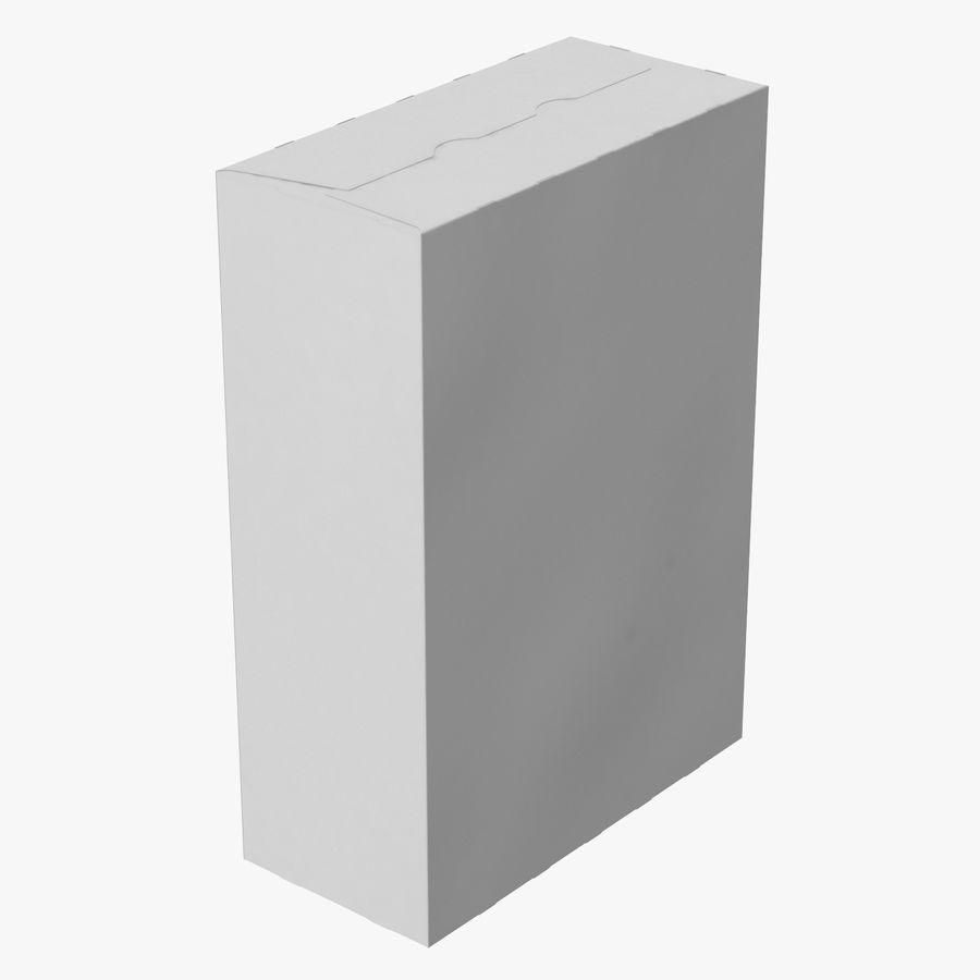 谷物盒打开和关闭 royalty-free 3d model - Preview no. 3