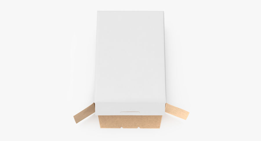 谷物盒打开和关闭 royalty-free 3d model - Preview no. 8