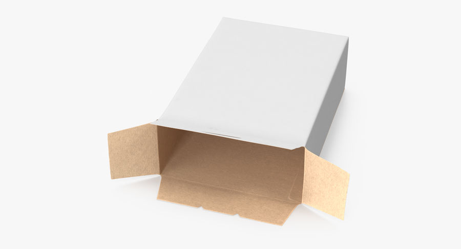 谷物盒打开和关闭 royalty-free 3d model - Preview no. 4
