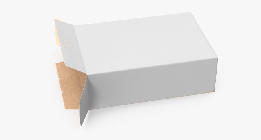 谷物盒打开和关闭 royalty-free 3d model - Preview no. 5