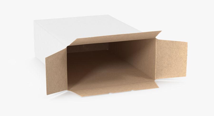 谷物盒打开和关闭 royalty-free 3d model - Preview no. 7