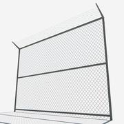recinzione poli basso 3d model